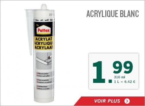 Acrylique blanc