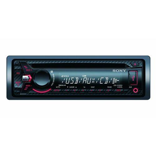 Autoradio Sony CDX-G1000UI Eclairage rouge