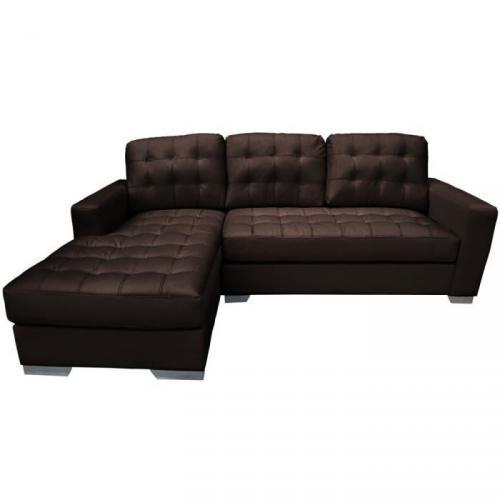 seville canap marron fonc prix 3 99. Black Bedroom Furniture Sets. Home Design Ideas