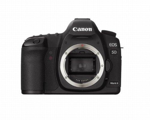 Canon EOS 5D Appareil photo numérique Réflex 21.1 Mpix Boîtier nu Noir