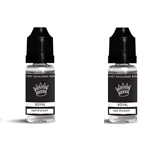 E-Liquide français bluelite Arome Tabac Royal 20ml pour cigarette éléctronique sans nicotine