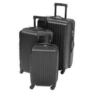 CITY BAG-CITY BAG Set de 3 valises trolley 4 roues Vegas