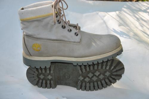 5w Modele Chaussures Cuir Taille 10 Nubuck Gris Timberland Bucheron BUx8qwBH