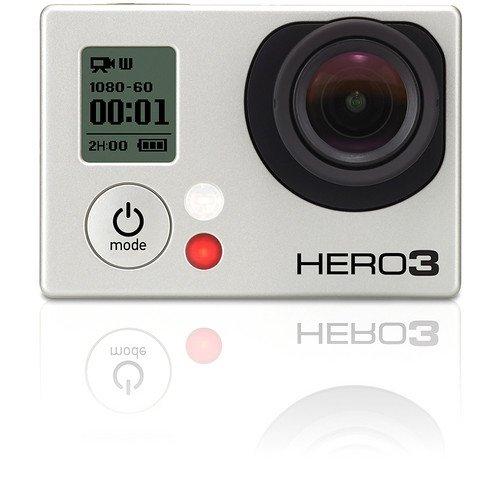 Gopro HERO 3 Silver Edition Caméra HD 11 Mpix Wi-Fi intégré