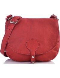 Masquenada, Mesdames sac à main, sacs à bandoulière Saddle Bag croisement, sac en cuir 28x26 cm (L x H)