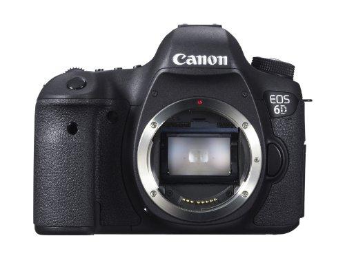 Canon EOS 6D Appareil photo numérique Réflex 20.6 Mpix Boîtier nu Noir