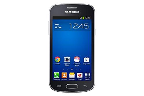 Samsung Galaxy Trend Lite Smartphone débloqué 3G  (Ecran : 4 pouces - 4 Go - Android 4.1 JellyBean) Noir