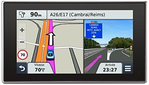 Garmin Nüvi 3597 LMT - GPS Auto haut de gamme - écran 5 pouces - Appel mains libres et commande vocale - Info Trafic et carte (45 pays) gratuits à vie