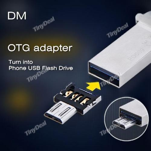 microUSB-->USB adaptater