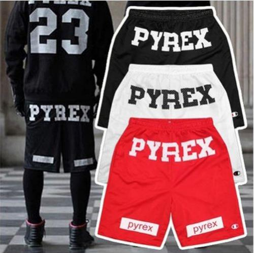 SHORT Cheap Brand Style 2016 Pyrex Shorts For Men Loose Harajuku Slim Shorts Hot Hip-hop Street
