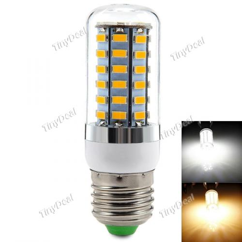 20-240V E27 18W 1650LM 56-LED SMD 5630 LED Warm White Natural White Corn Bulb HLT-363829