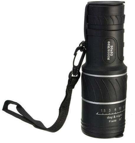 30x52 Haute Définition Télescope Voyage Monoculaire Portée Jumelles Multi Revêtement Lentilles Dual Focus Optique Lentille Jour Nuit Vision