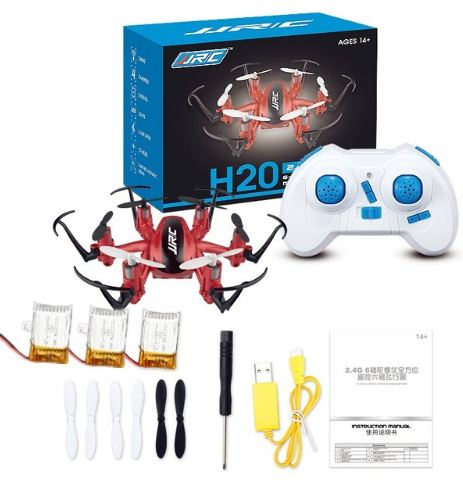 Mini Rc Drone 6 axe Rc Dron Jjrc H20 Micro Quadcopters professionnel