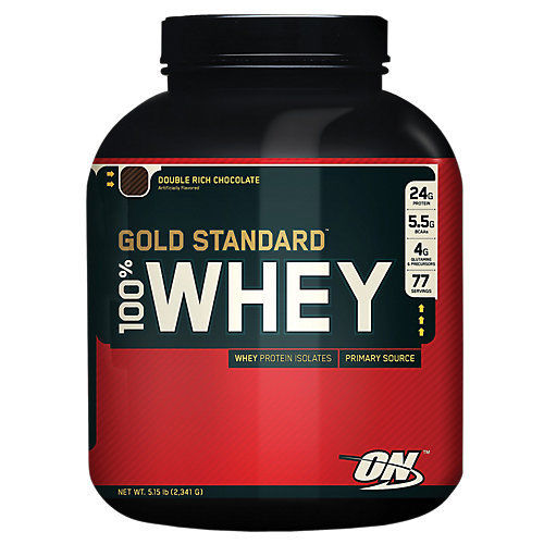 Optimum Nutrition Gold Standard 100% Whey - 5 lb Protein Powder Chocolate