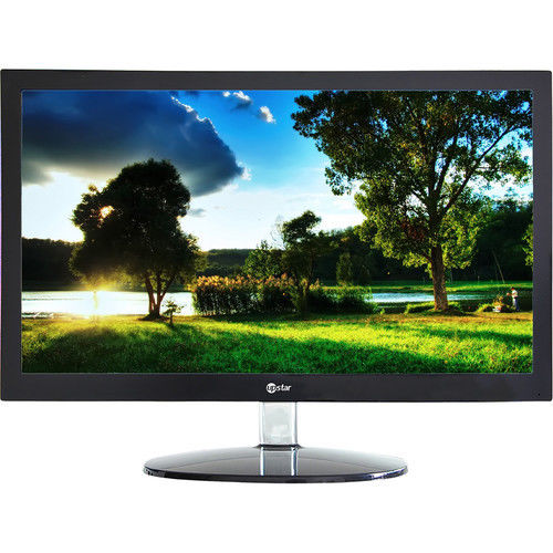 "New UPSTAR M200A1 19.5"" Widescreen LED-Backlit Display 1600x900 5ms 200cd/m2 VGA"