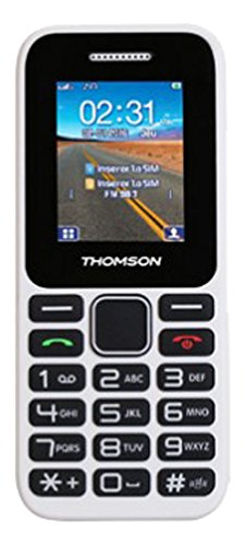 Thomson Tlink 11 Téléphone Mobile Compact Blanc
