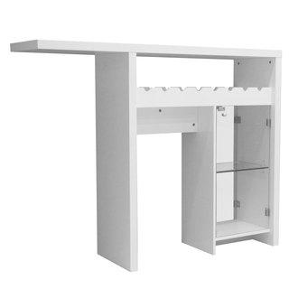 Mobilier - Table bar avec rangement ...