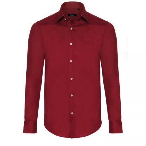 Chemise Hugo Boss Bordeaux Slim Fit
