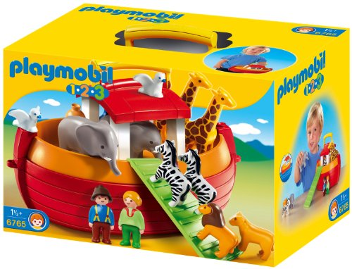 Playmobil 1.2.3 - 6765 - Arche de Noé transportable(1 an et demi  )
