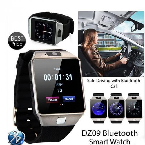 DZ09 Bluetooth Wrist Smart Watch Phone Camera SIM Card For IOS iPhone Cellphone
