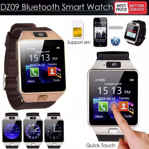 DZ09 Bluetooth Smart Watch Phone Mate GSM SIM For Android