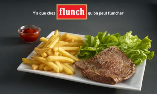 Chez Flunch, pour 1 Euros Seulement
