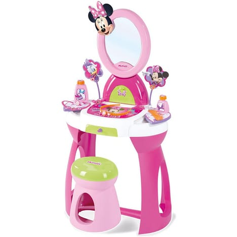 smoby coiffeuse sur pieds 2 en 1 minnie prix 23 99. Black Bedroom Furniture Sets. Home Design Ideas
