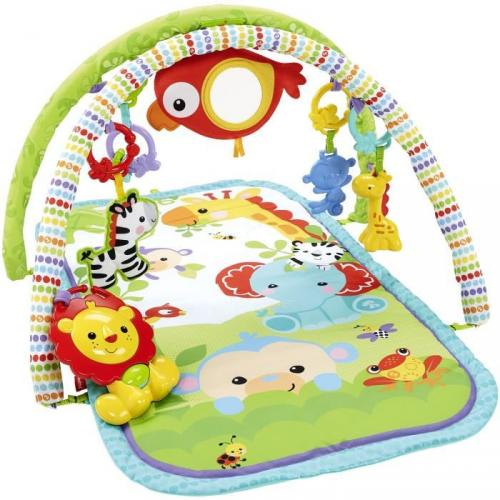 FISHER-PRICE Tapis d'Eveil amis de la jungle 3 en 1