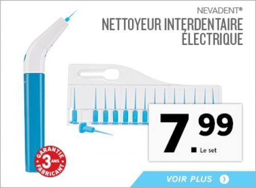 Nettoyeur Interdentaire Electrique