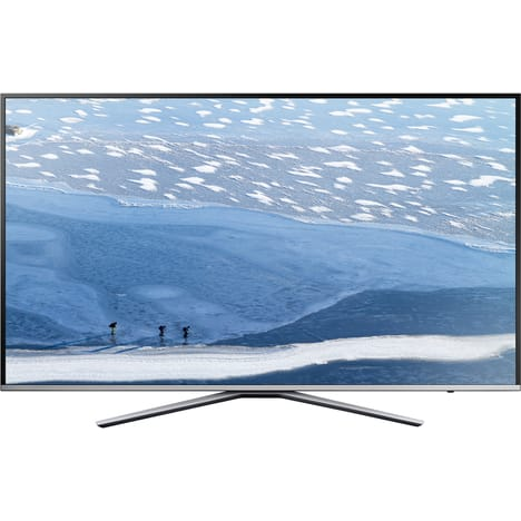 SAMSUNG UE49KU6400 - Argent - Téléviseur LED Ultra HD Ecran 123 cm / 49 pouces - Ultra HD - Smart TV - WiFi - Bluetooth - 3x HDMI - 2x USB