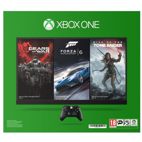 Console Xbox One 1 To   1 jeu