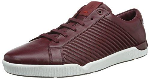 Hugo Fusion Tenn Ltma 10191221 01, Sneakers Basses Homme, Rouge (Dark Red 601), 46 EU