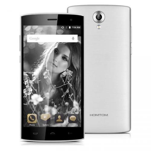 HOMTOM HT7 Pro 4G LTE Smartphone Argenté 5.5'' IPS