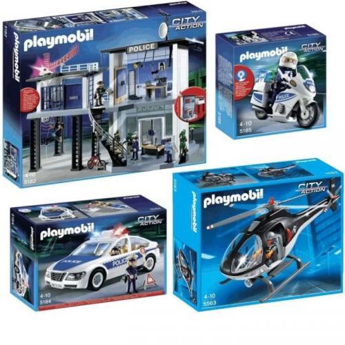 PLAYMOBIL Pack Commissariat de Police 5182