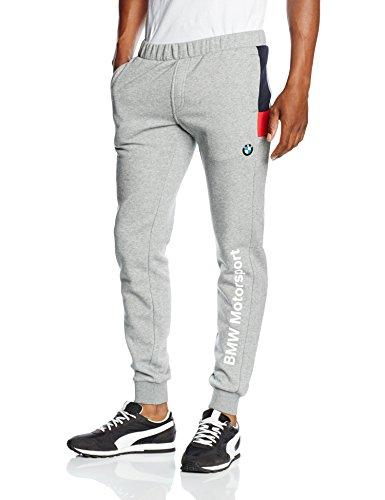 Puma Bmw Pantalon Homme Medium Gray Heather FR : M (Taille Fabricant : M)