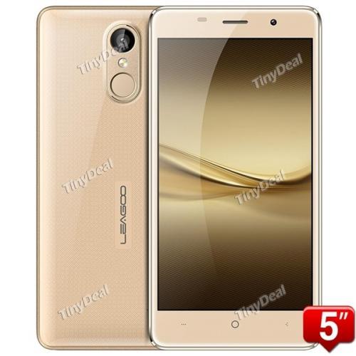 "LEAGOO M5 MTK6580 Quad-core 5.0"" HD Android 6.0 3G Phone 8MP CAM 2Go RAM 16Go ROM Touch ID OTG Smart Réveil"