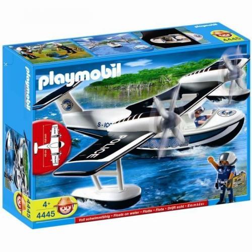 Playmobil Policiers et Hydravion 4445