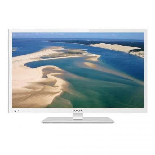 OCEANIC TV 220116W2 - Full HD 1080p - 55cm (22 pouces) - LED - 1 HDMI - Blanche