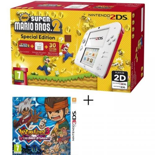 Pack Console 2DS - Rouge