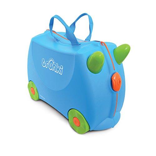 Trunki, valise pour enfant,  Ride-On Terrance Bleu