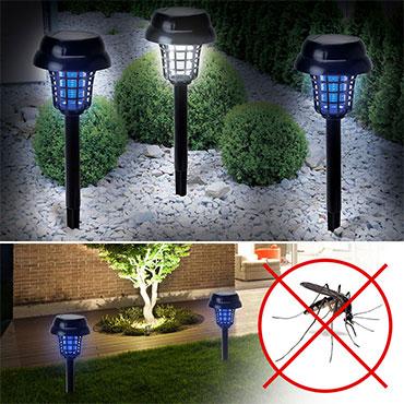 Lanterne Solaire anti-insectes 2 en 1