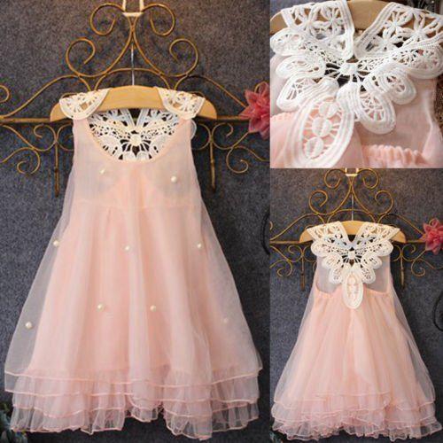 Flower Girl Summer Princess Dress