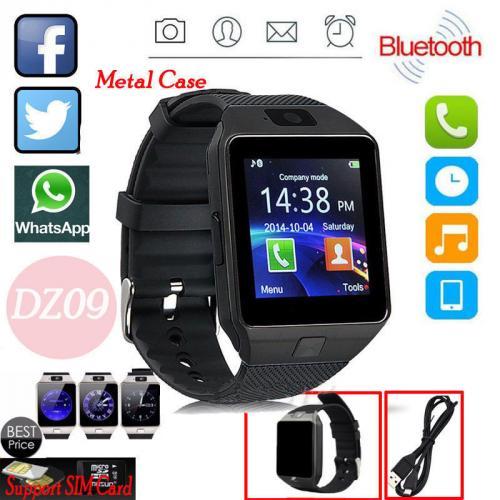 DZ09 Bluetooth Smart Watch Phone SIM Card For Android/IOS HTC Samsung Sony LG