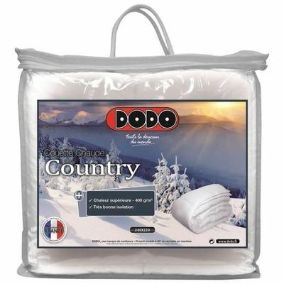 DODO Couette chaude 400 gr/m² COUNTRY 220x240cm