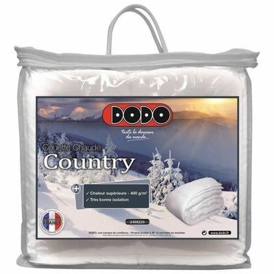 DODO Couette chaude 400 gr/m² COUNTRY 220x240cm