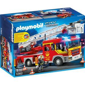 PLAYMOBIL 5362 Camion Pompier Échelle Sirène