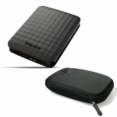 "Maxtor Disque Dur Externe M3 Portable STSHX-M201TCBM   Etui Port HDD 2.5' Chevron - 2To - 2.5"" - USB 3.0"