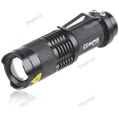 Portable 3W Mini Superbe Lumineux Zoom