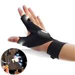 Magic Strap LED Fingerless Glove for NightTime Repairs