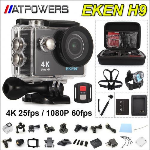 Camera Action deportiva D'origine EKEN H9/H9R
